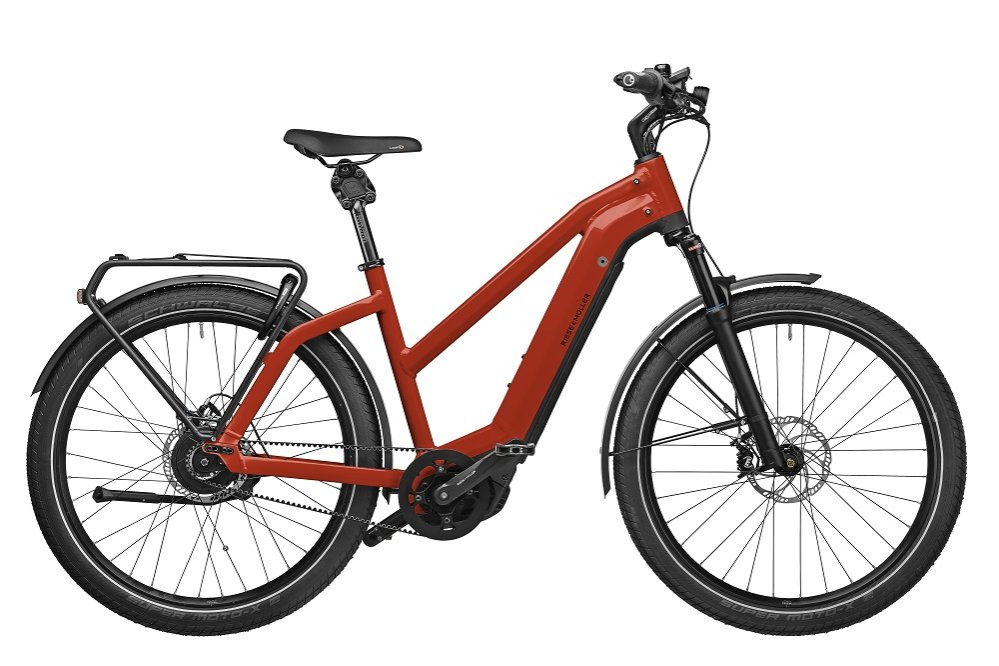 Riese und Mueller  Charger Mixte Touring  Shimano 10- Gang Deore Kettenschaltung Power Tube 500Wh  electric red   28/49cm  Performance CX 2019