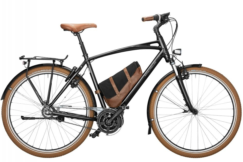 Riese und Mueller Cruiser Urban 28/51cm black Intuvia 500Wh Bosch Active Plus Nexus 8 speed Belt 2019